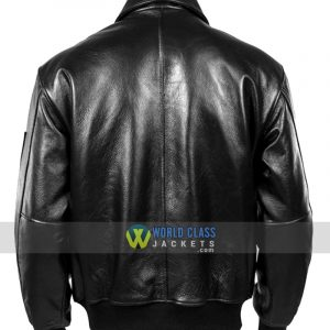 Genuine Cowhide Winter Military Russian Aviator Leather Coat