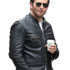 Burnt Bradley Cooper Adam Jones Black Biker Original Leather Jacket