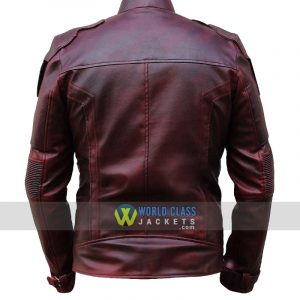 Chris Pratt Star Lord Real Leather Jacket Sale