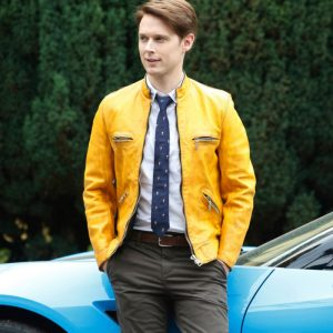 Dirk Gently's Holistic Detective Agency Yellow Leather Jacket