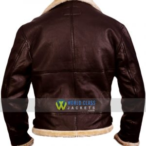 Tom Hardy Dunkirk Farrier Fur Leather Jacket
