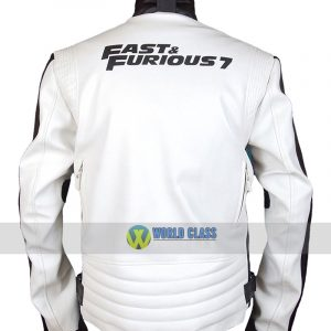 Fast and Furious 7 Dom Leather Jacket