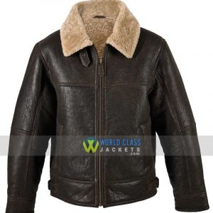Men's RAF WW2 Aviator B3 Genuine Bomber Leather Jacket