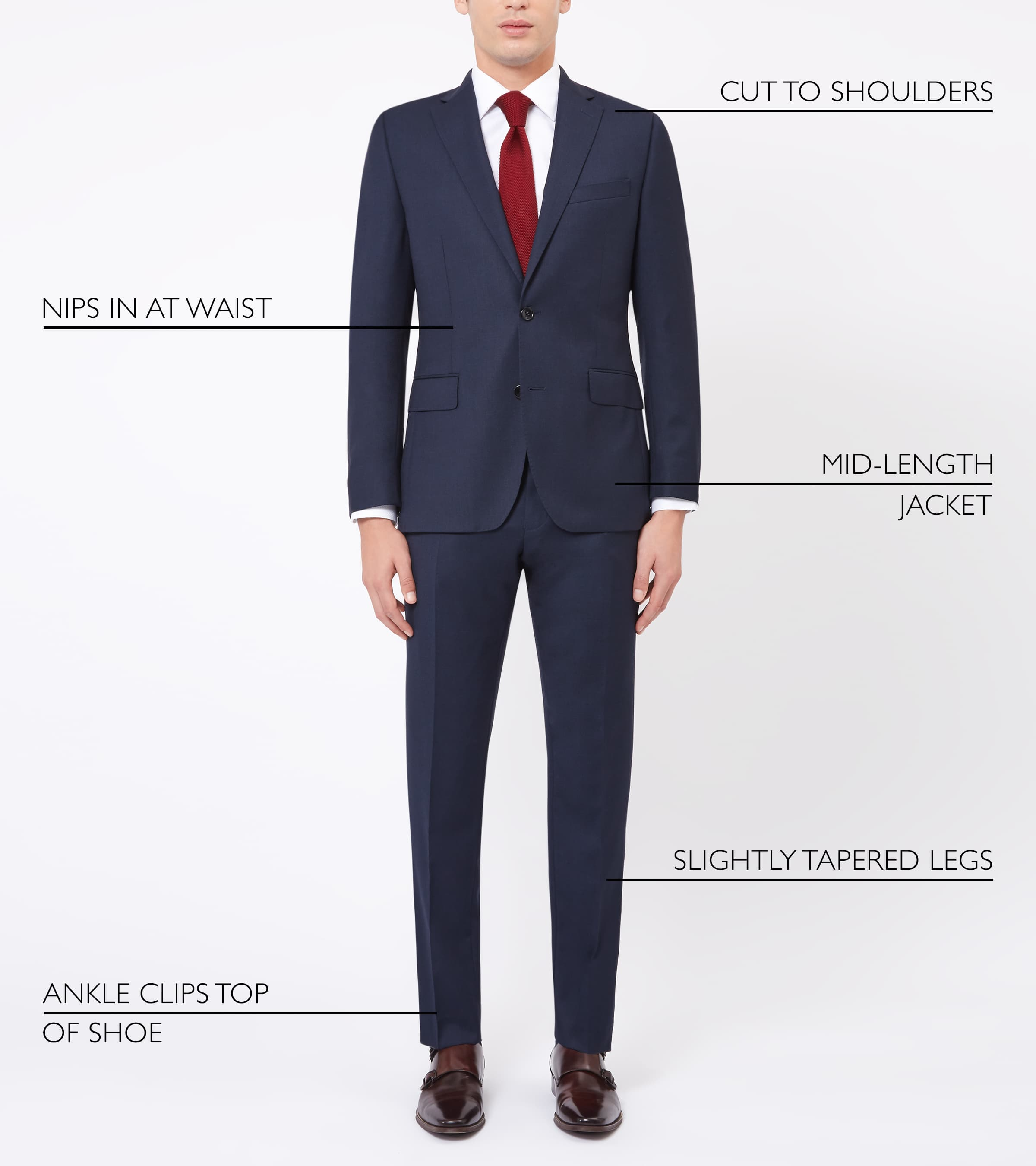 Men's Size Chart And Measurement