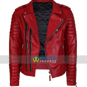 Buy Men's Real Biker New Vintage Slim Fit Leather Jacket