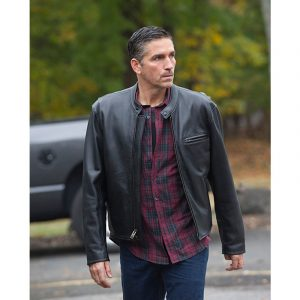 Person Of Interest James Patrick Caviezel John Reese Leather Jacket