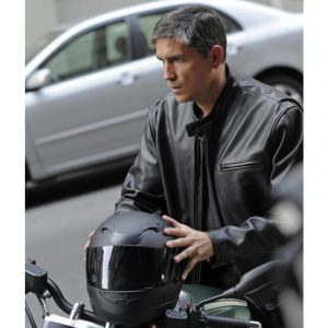 Person Of Interest Jim Caviezel John Reese Black Jacket