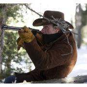 Sheriff Walt Longmire Robert Taylor Brown Suede Leather Coat