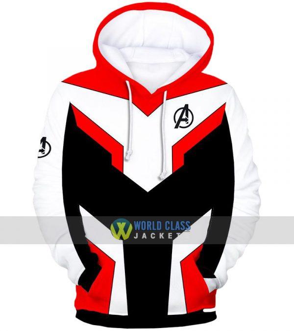 Avengers EndGame Superheroes Quantum Costume Pullover Hoodie
