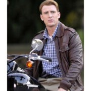 Captain America Steve Rogers Locomotive The Avengers Brown Jacket
