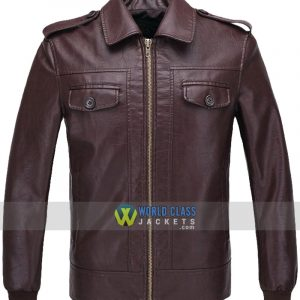 Captain America Steve Rogers The Avengers Brown Jacket