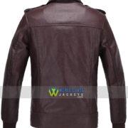 Steve Rogers Captain America The Avengers Brown Jacket