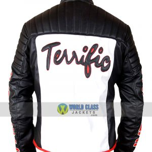 Fair Play Mister Terrific Michael Holt Leather Jacket