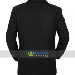 Legion David Haller Black Wool Leather Jacket