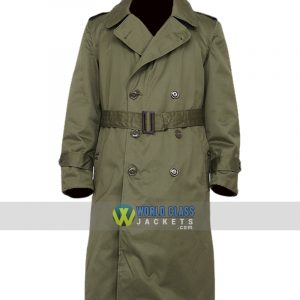 Military US Army M-51 Trench Coat Wool Liner