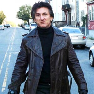 Mystic River Sean Penn Black Coat