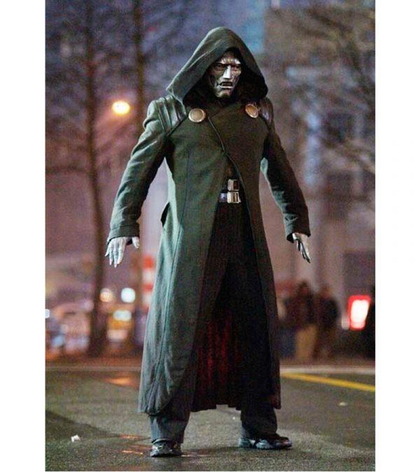 Fantastic Four Silver Surfer Victor Doctor Doom Cosplay Costume Coat
