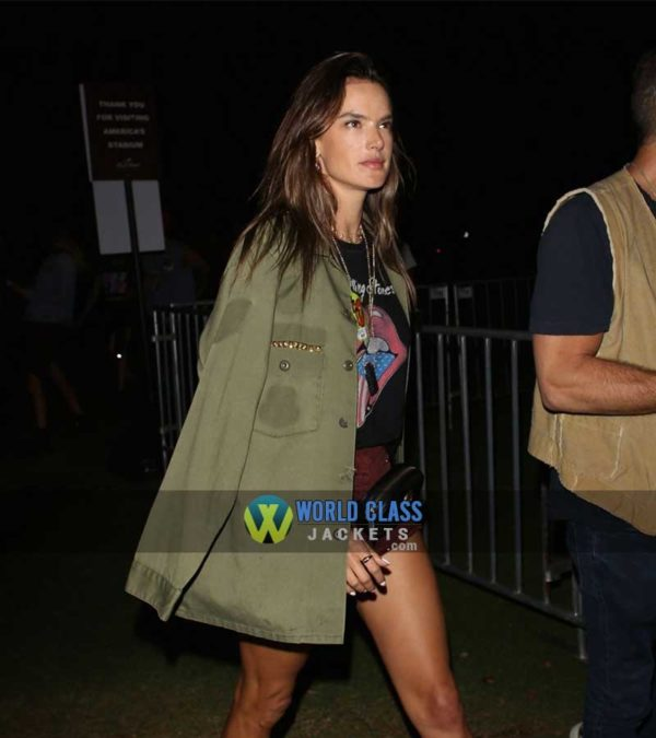 Buy Alessandra Ambrosio Women's Cotton Coat at $50 Off Sale