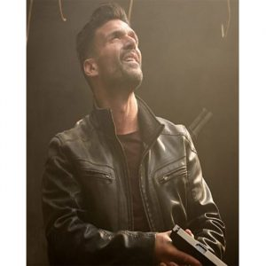 $50 Off on Frank Grillo Beyond Skyline Black Leather Jacket